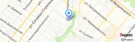 Green systems на карте Днепропетровска