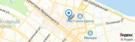 Франс.уа на карте Днепропетровска
