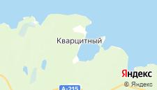 Отели города Кварцитный на карте