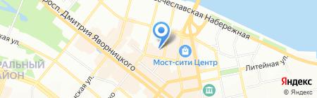Majori на карте Днепропетровска