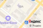 Схема проезда до компании Нотариус Новикова Н.А. в Днепре