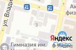 Схема проезда до компании Элекомп Днепр в Днепре