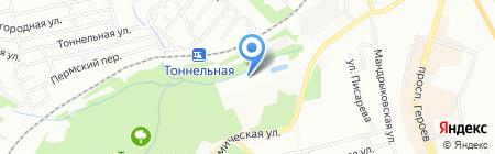 Лавина на карте Днепропетровска