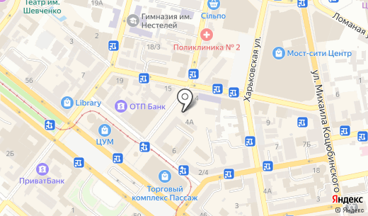 Адвокатский кабинет Бовкуна О.П.. Схема проезда в Днепропетровске