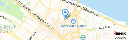 СолМар на карте Днепропетровска