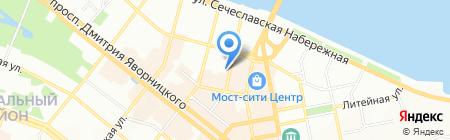 Терминал самообслуживания Райффайзен Банк Аваль на карте Днепропетровска