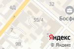 Схема проезда до компании Компания по изготовлению печатей и штампов в Днепре