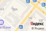 Схема проезда до компании КБ Глобус, ПАТ в Днепре