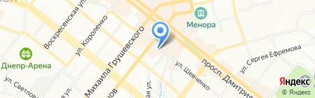 Kadi на карте Днепропетровска