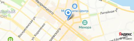 Mirachel на карте Днепропетровска