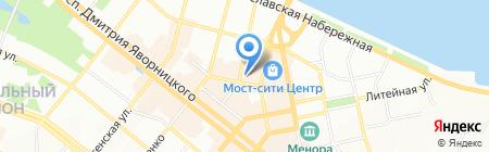 Форнетти на карте Днепропетровска