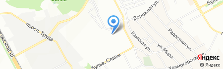 Середня загальноосвітня школа №83 на карте Днепропетровска