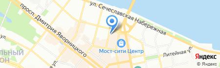 Сільпо на карте Днепропетровска