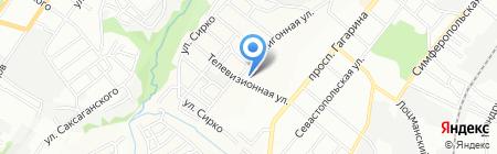 Z-сервис на карте Днепропетровска