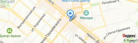 Взуття для кожного на карте Днепропетровска