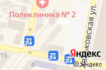 Схема проезда до компании Нотариус Зинкова Ю.Е. в Днепре