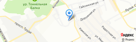Аметист на карте Днепропетровска