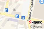 Схема проезда до компании Proba в Днепре