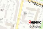 Схема проезда до компании ВАШЕ ЗДОРОВЬЕ в Днепре