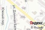 Схема проезда до компании Литограф в Днепре