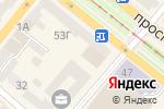 Схема проезда до компании Орхидея в Днепре