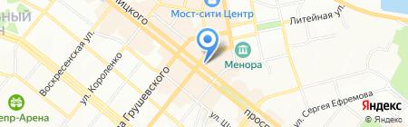 Банкомат Альфа-Банк на карте Днепропетровска