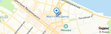 iService на карте Днепропетровска
