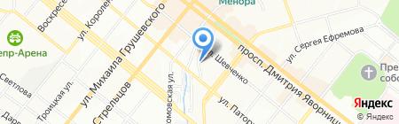 Истпайп на карте Днепропетровска