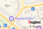 Схема проезда до компании Адвокат Марченко Ю.Ф. в Днепре