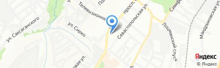 Travel Point на карте Днепропетровска