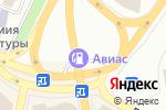 Схема проезда до компании АВІАС плюс в Днепре