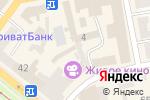 Схема проезда до компании Днепропетровская областная федерация таеквон-до ИТФ в Днепре