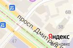 Схема проезда до компании Танцевальная студия Натальи Татаринцевой в Днепре