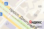 Схема проезда до компании CHICCO в Днепре