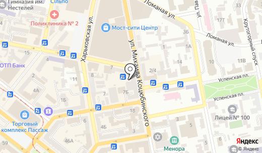 Canta Dunyas?. Схема проезда в Днепропетровске