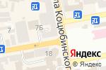 Схема проезда до компании Українське.com.ua в Днепре