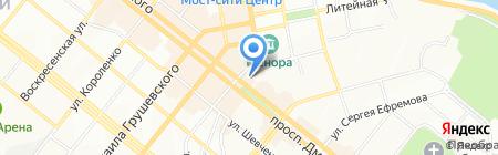 Наш район на карте Днепропетровска
