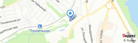 Garage 1054 на карте Днепропетровска
