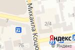 Схема проезда до компании Пивоман в Днепре
