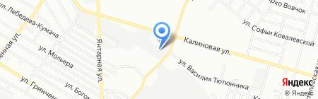 Автовес на карте Днепропетровска
