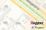 Схема проезда до компании Шамрок в Днепре