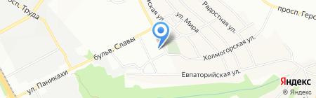 Дніпропетровська загальноосвітня санаторна школа-інтернат №5 І-ІІІ ступенів на карте Днепропетровска