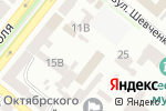 Схема проезда до компании Папірінфо, ТОВ в Днепре