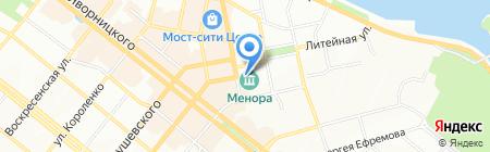 Золотая роза на карте Днепропетровска