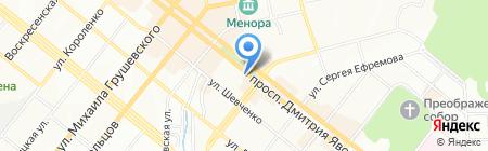 Apple Fine на карте Днепропетровска