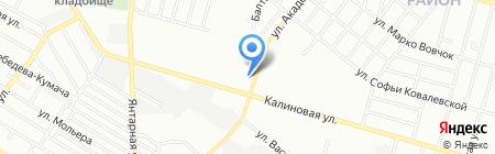 Лючия на карте Днепропетровска