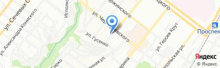 Чайка Форевер на карте Днепропетровска