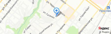 Авторская школа Инги Дацюк на карте Днепропетровска