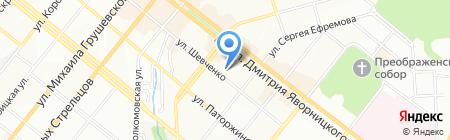 Пайпсистем на карте Днепропетровска