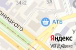 Схема проезда до компании Doberman в Днепре
